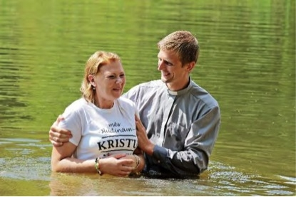 Ropazi-Baptism